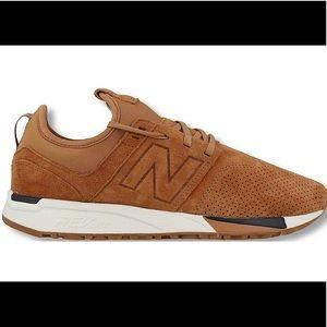 New balance tan 247 sneakers